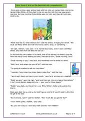 Jack & the Beanstalk with Comprehension